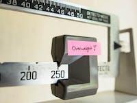 110 Kilo sind FETTLEIBIGKEIT laut Gewichtskontrolle beim Arzt