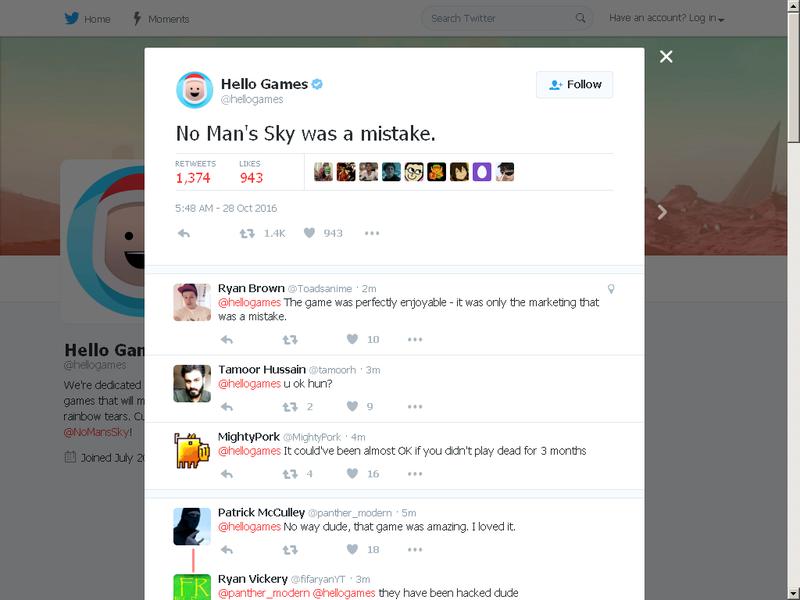 Creator's tweet