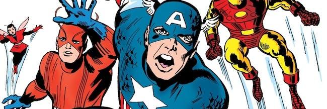 Jack Kirby Avengers