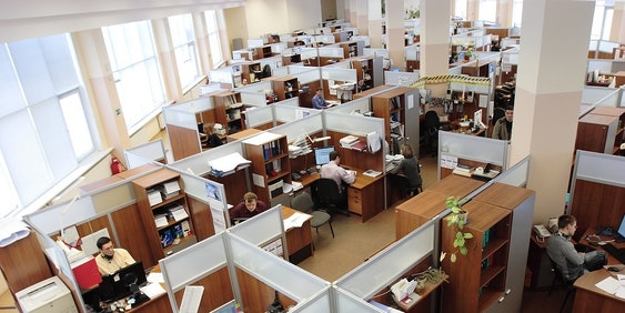 Office spatial plans determines office productivity.