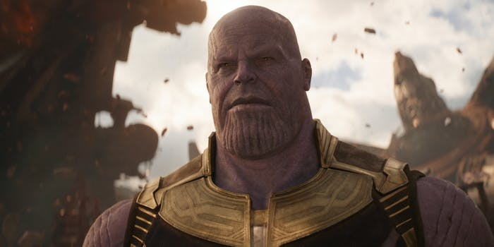 Thanos Josh Brolin Infinity War