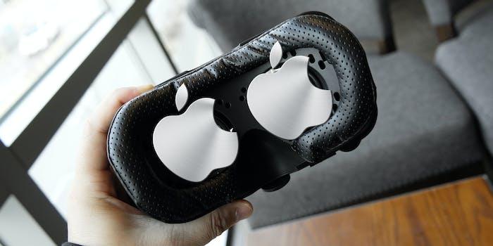 vr ar headset apple rumors