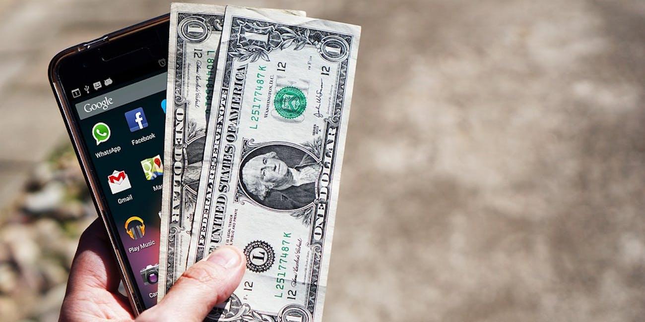 iphone money cash