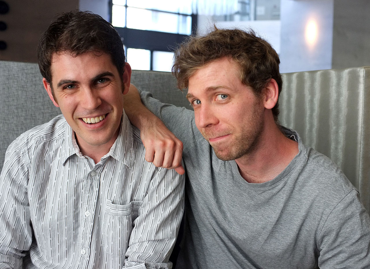 Hello Games' founders Sean Murray and Grant Duncan.