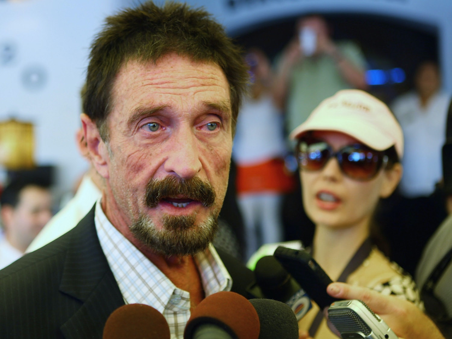 John McAfee challenges redditors to a coding challenge.