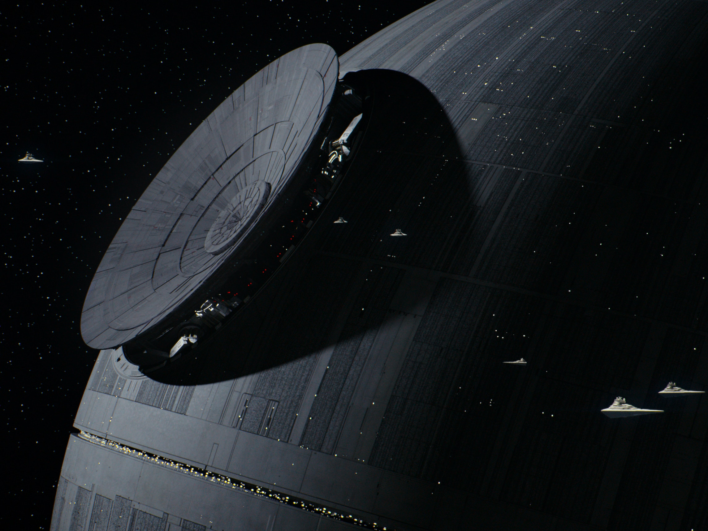 Lucasfilm Lost the Old Death Star, So It Made a New One With CGI