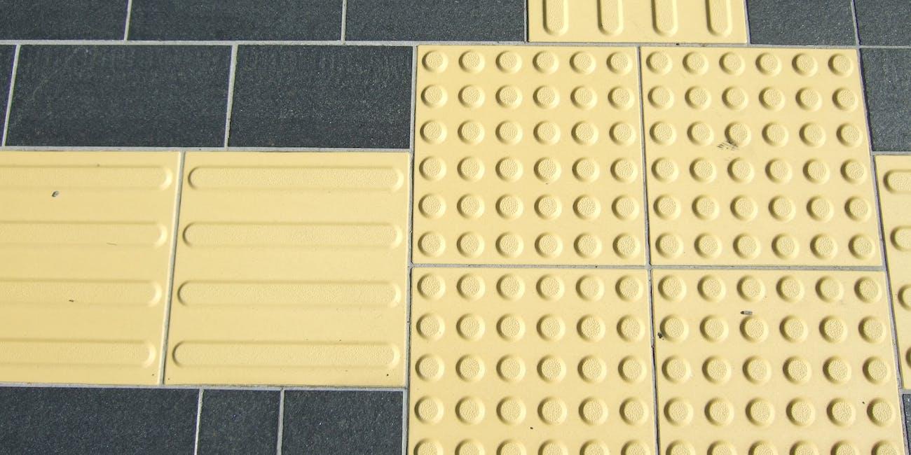 Tactile block