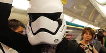 I Took the Tube With a Stormtrooper and a Mandalorian