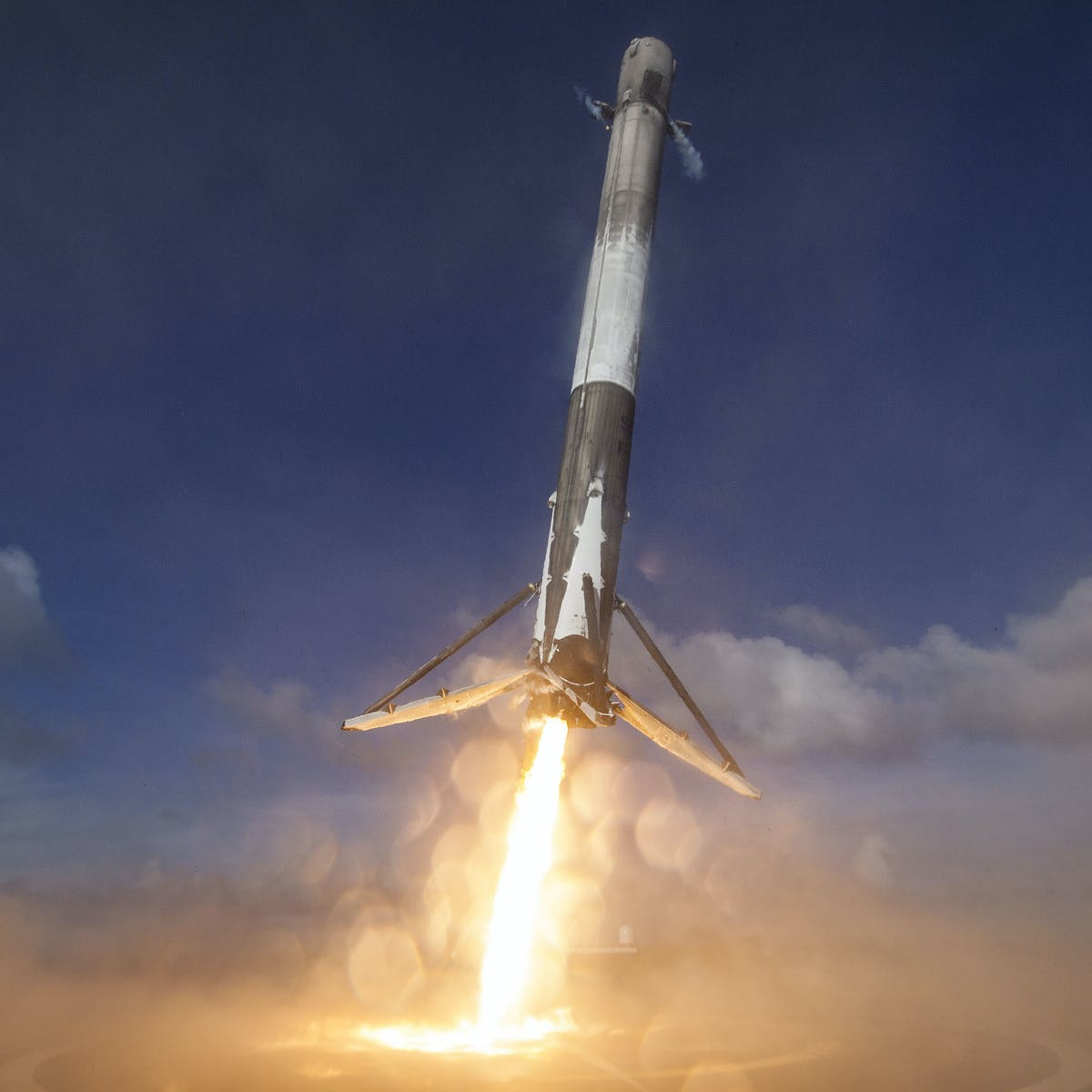 Elon Musk debuts SpaceX's latest tool in the bid to reuse rockets