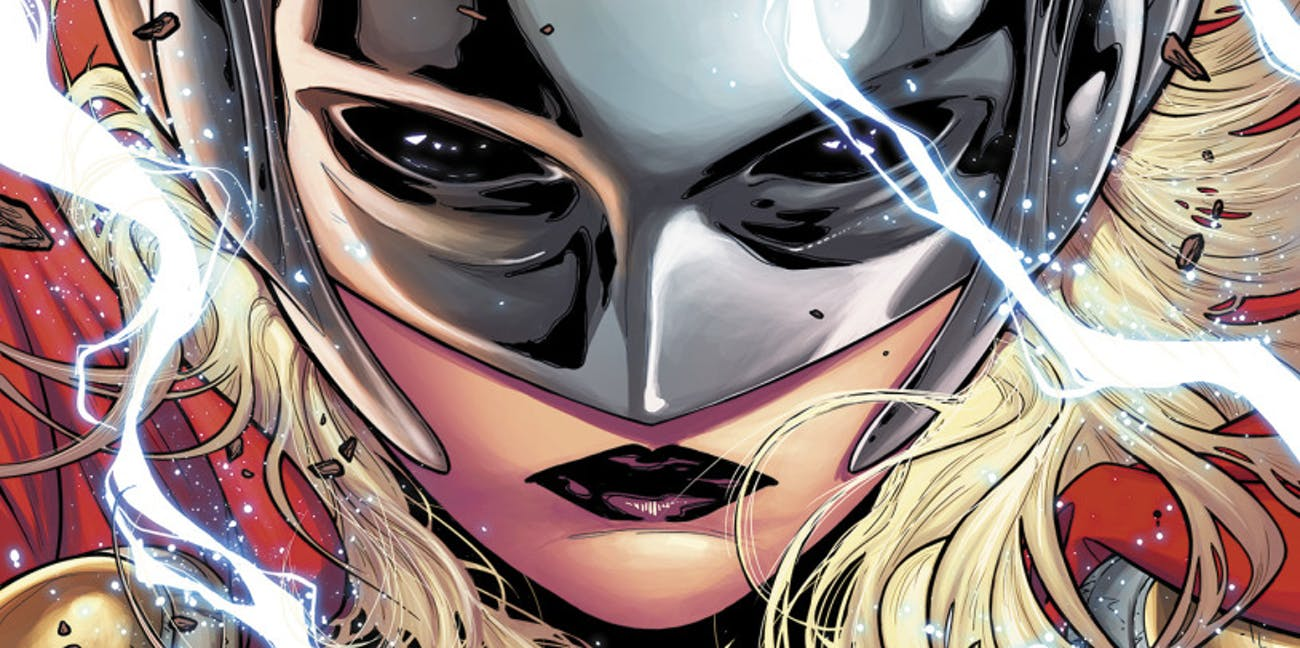 Cover of 'The Mighty Thor' #1 Jane Foster