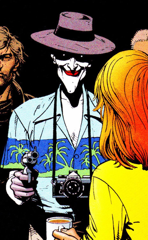 The Joker in 'The Killing Joke'