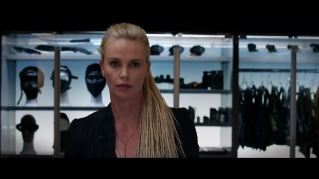 Charlize plays a high-tech terrorist in the upcoming film.