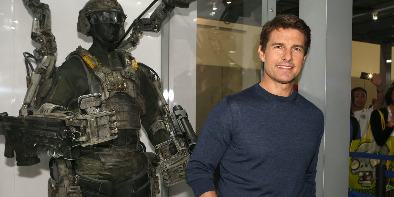 Tom Cruise's 'Edge of Tomorrow' Sequel Hints Show Serious