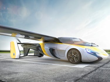 AeroMobil's Flying Car Will Let Drivers Soar Over Bad Roads