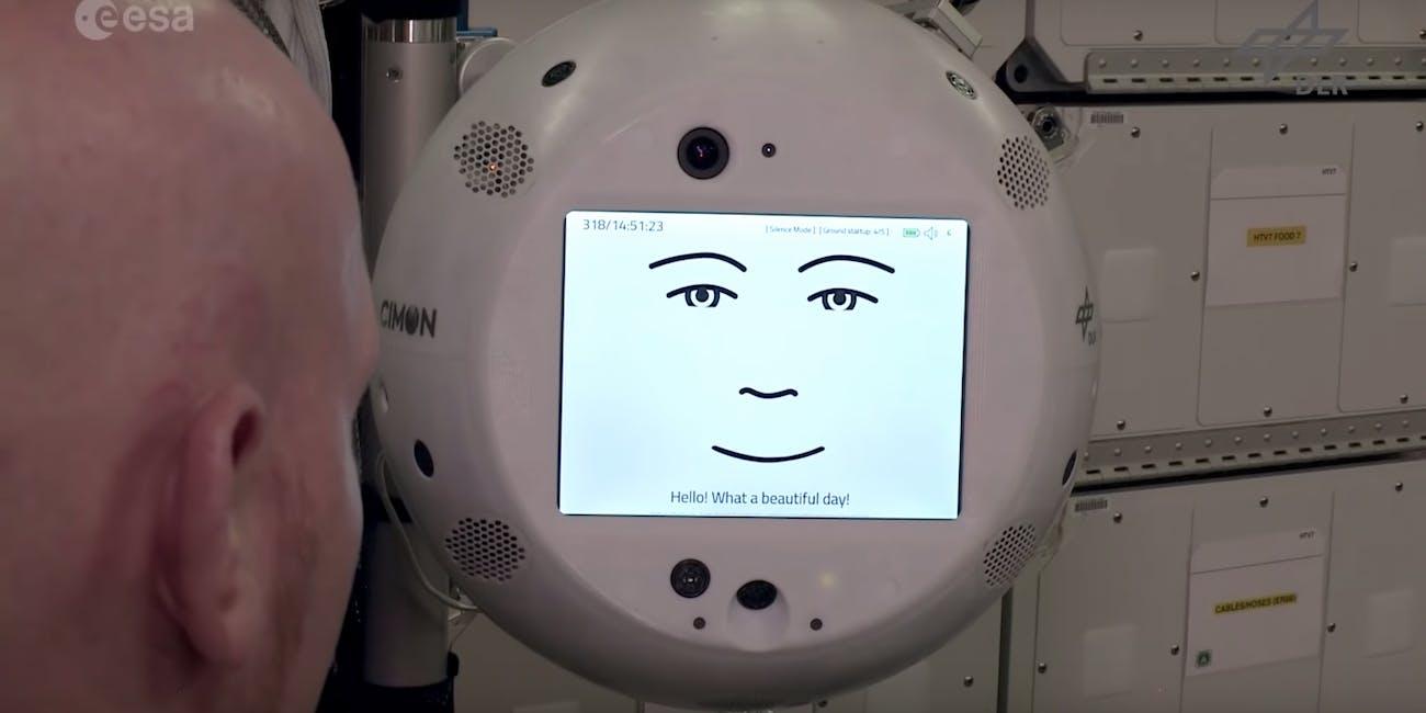iss cimon robot assistant