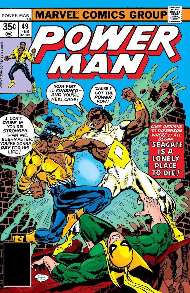 Power Man Iron Fist Luke Cage Bushmaster