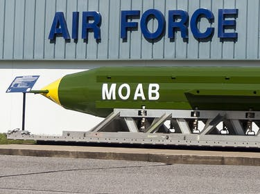 What Is GBU-43/B, the Mother of All Bombs?