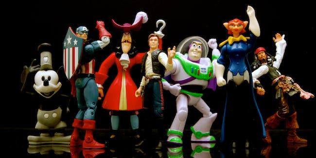 Disney Toys Action Figures