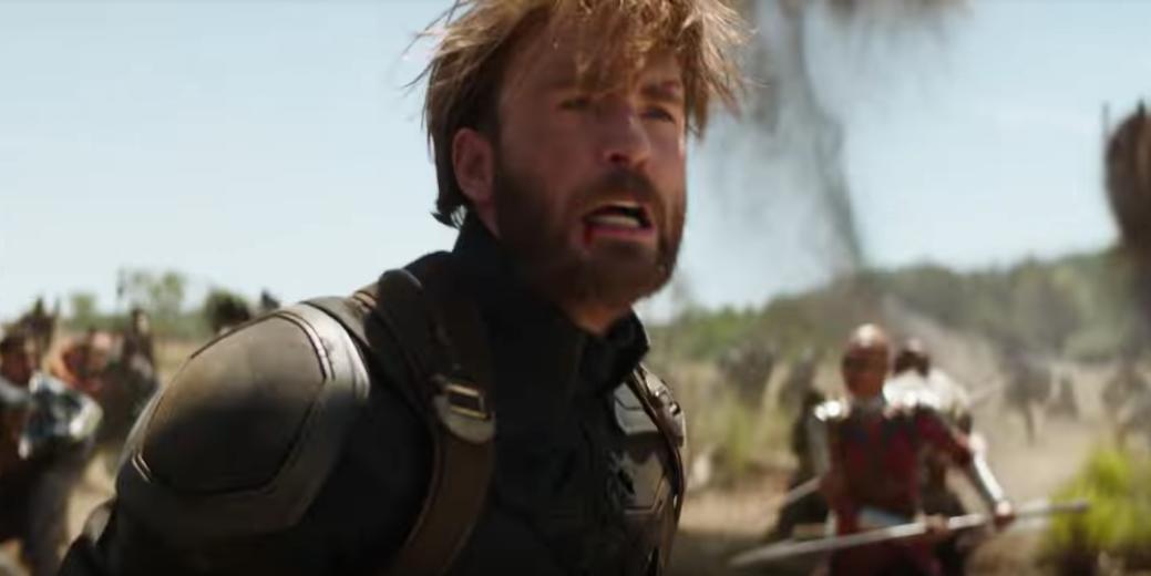 Avengers Infinity War Trailer Fans Love Captain Americas Beard