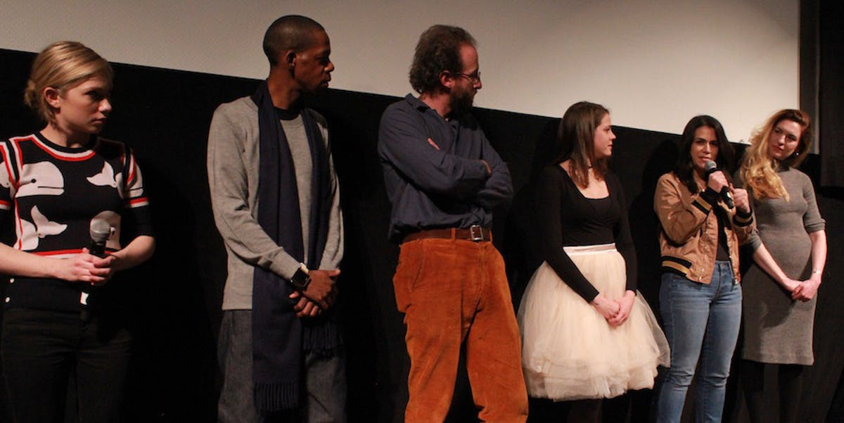 Q&A after the screening