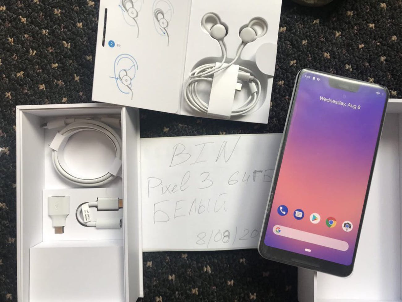 Google Pixel 3 XL: Leaked Unboxing Shows What Will Come With