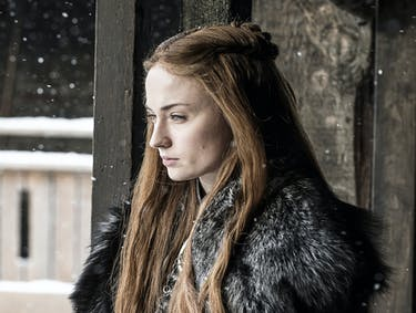 Sophie Turner as Sansa Stark in 'Stormborn,' Game of Thrones Season 7 episode 2