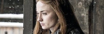 Sophie Turner as Sansa Stark in 'Stormborn,' Game of Thrones Season 7 episode 2