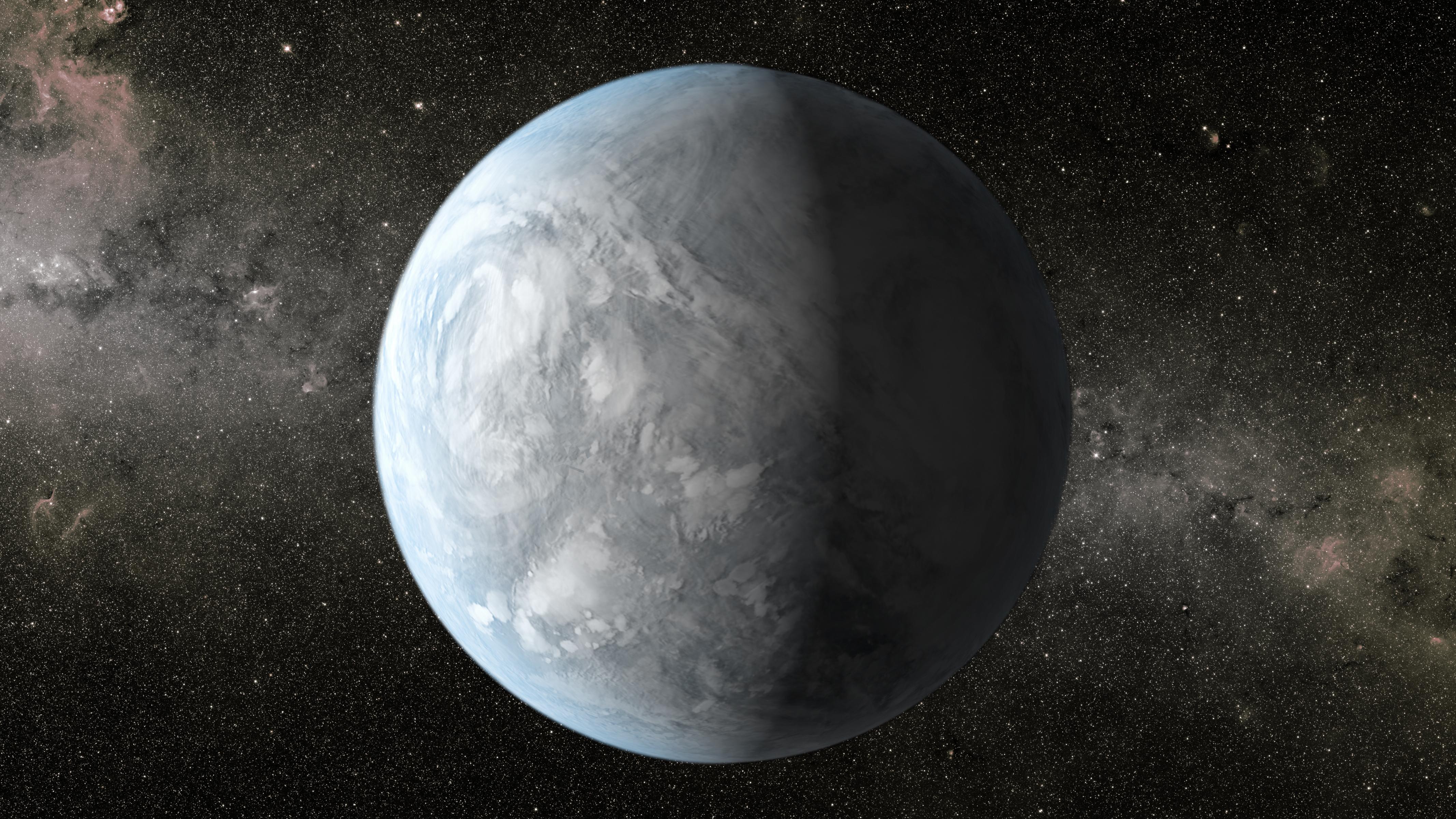 Artist's impression of Kepler-62e