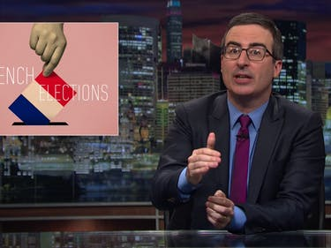 "John Oliver: ""The Fate of Europe"" Rests on France's Elections"