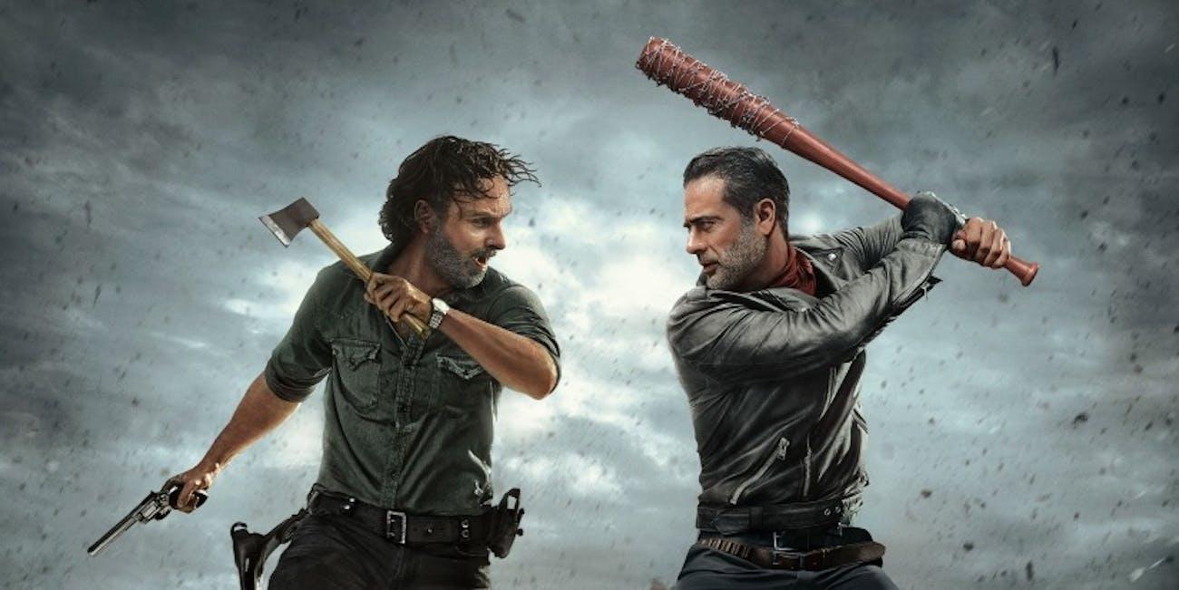 Seizoen 8 & 9 van The Walking Dead nu op Netflix!