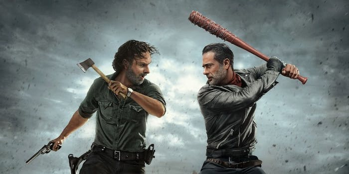 The all-out war between Rick and Negan finally ends on 'The Walking Dead'.