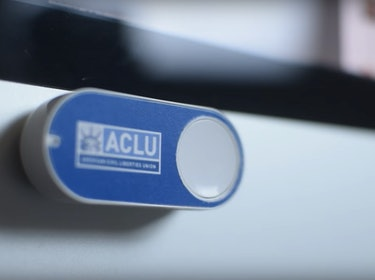 ACLU Dash Button Makes Donating to the Defense of Freedom Easy