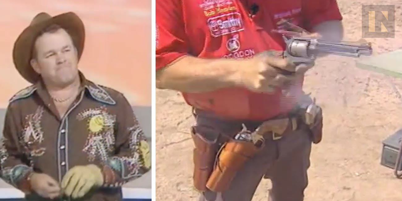 Bob Munden, one of the most impressive gun slingers in the world.