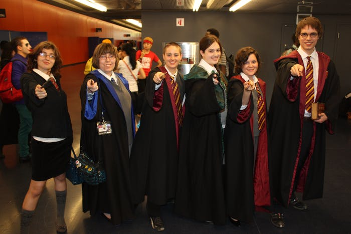 Otakuthon 2013: Harry Potter group