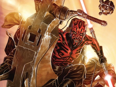 Darth Maul Battles Rathtars in New 'Star Wars' Comic