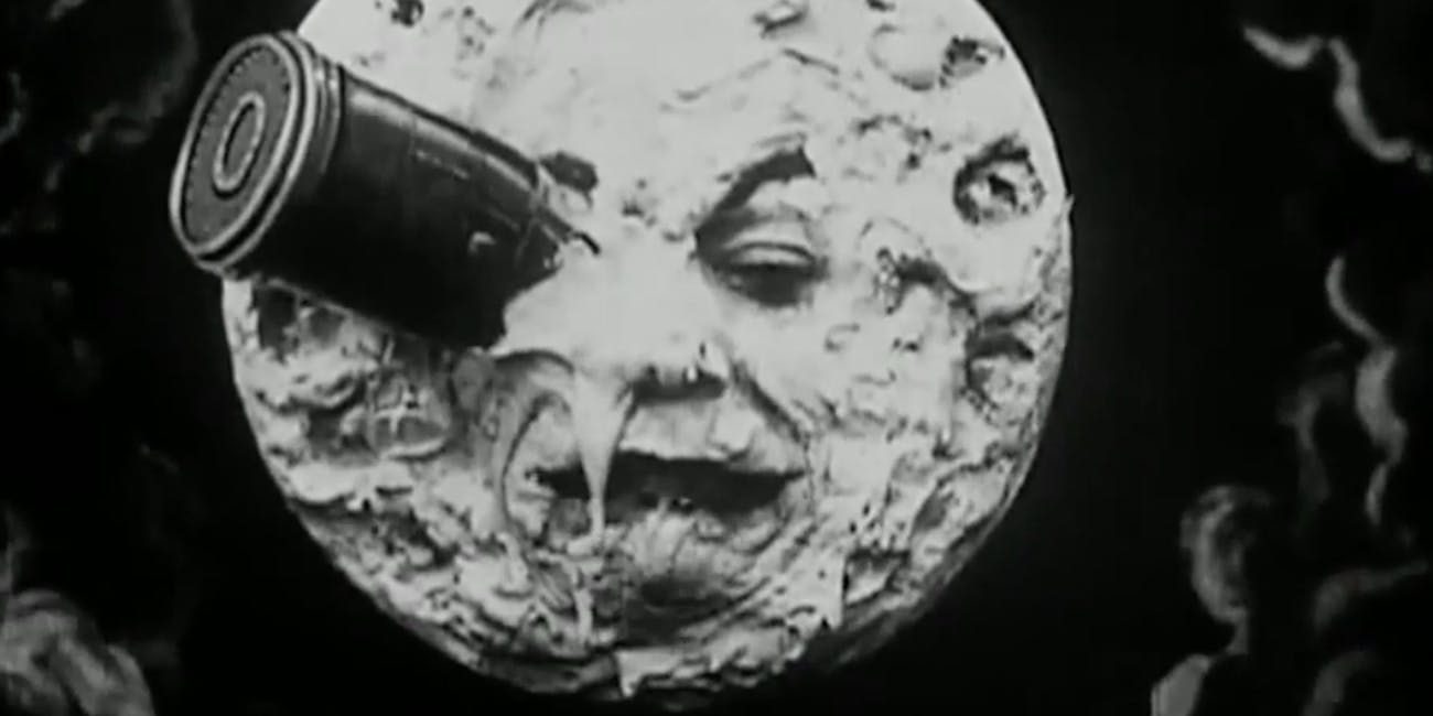Georges Méliès a trip to the moon