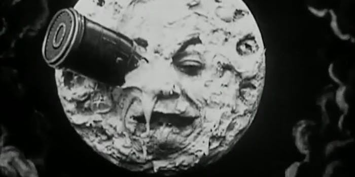 Georges Méliès a trip to the moon
