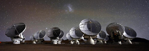 The Atacama Large Millimeter Array in Chile