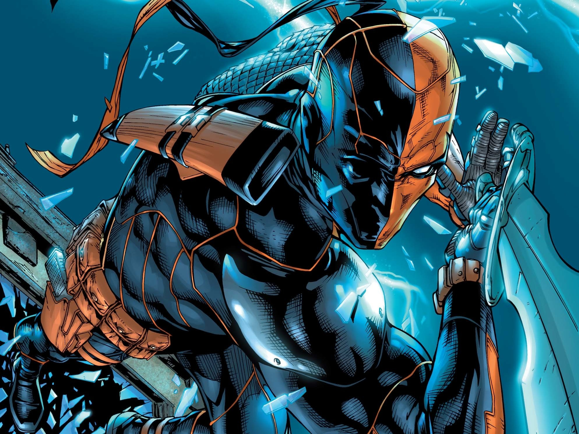 Deathstroke Wants Dark Liquor Before A Fight In Issue #2 Preview