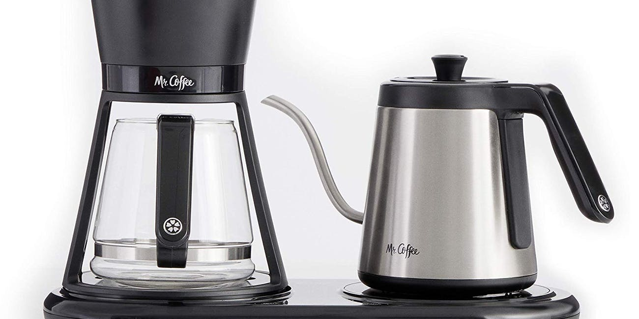 Mr. Coffee BVMC-PO19B All-in- One At-Home Pour Over Coffee Maker