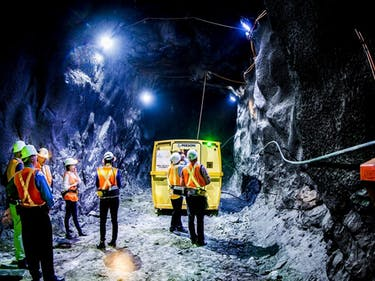 The Hunt for Dark Matter at the Bottom of a Gold Mine