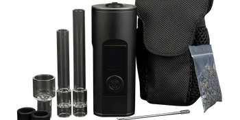 The Arizer Solo II is a solid, heavy-duty vape that's somewhat portable.