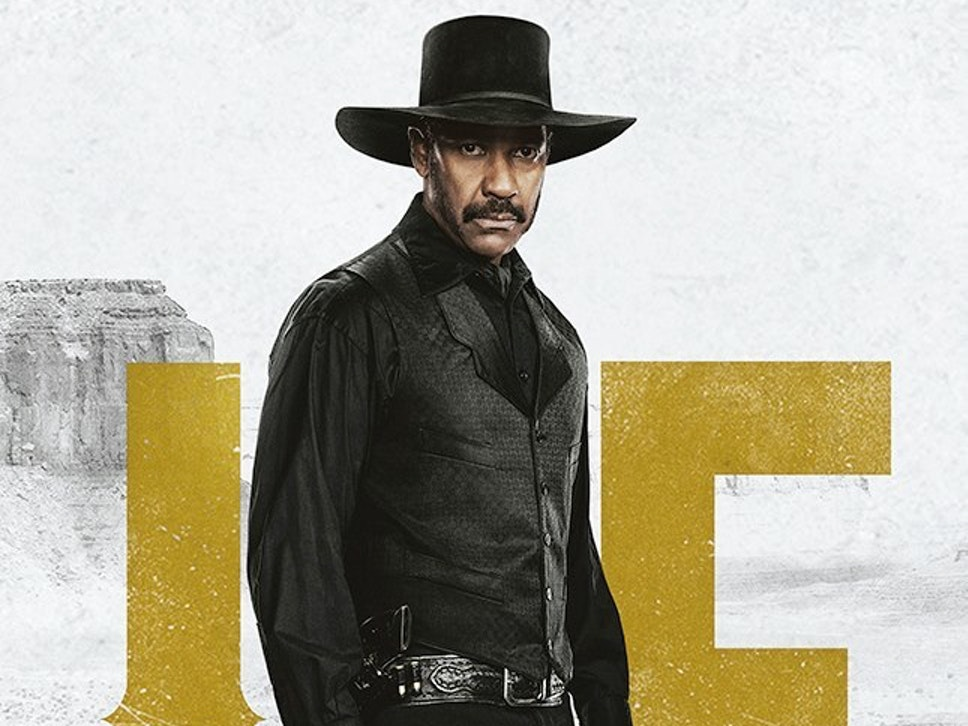 Denzel Washington as Sam Chisolm in 'The Magnificent Seven'
