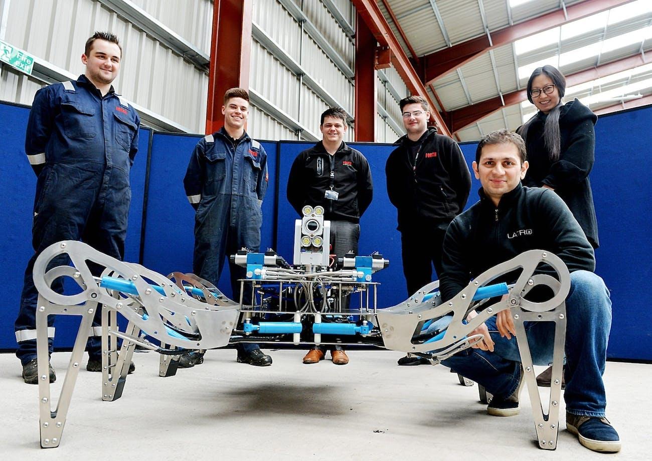 Forth engineering robot design team