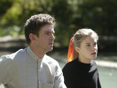Dan Stevens as David Haller and Rachel Keller as Syd Barrett in 'Legion'