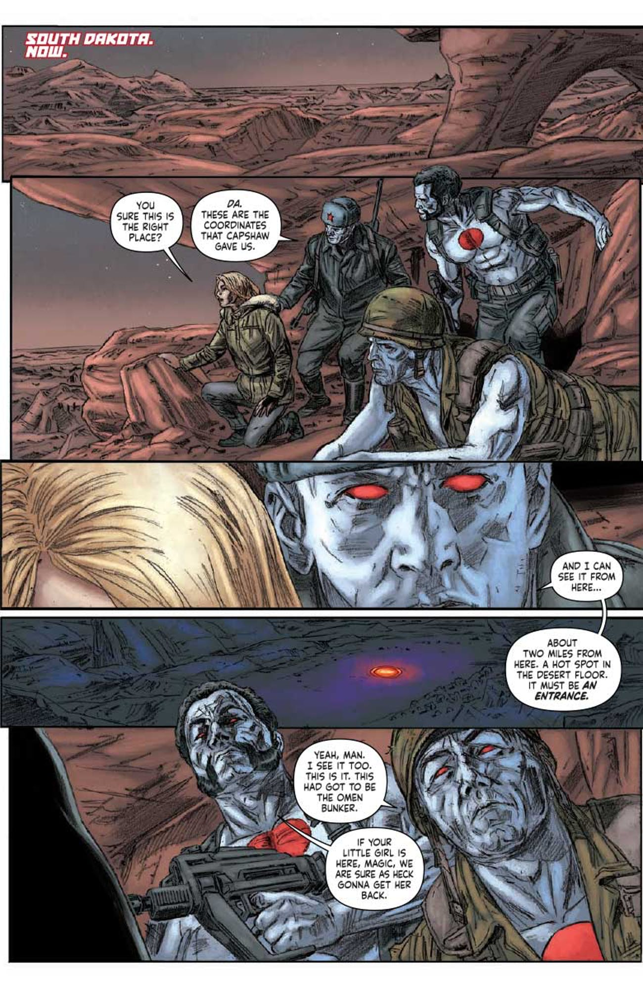 Bloodshot Salvation 12 Jeff Lemire