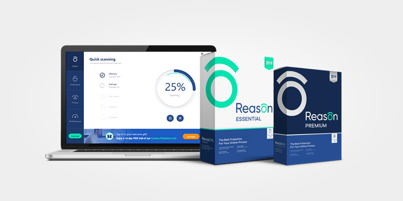 Reason Antivirus Complete Protection: 10-Year Premium Subscription