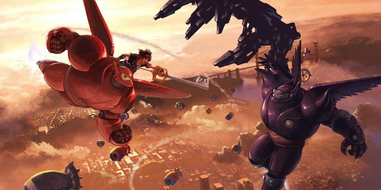 Big Hero 6 Kingdom Hearts