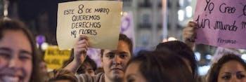 womens strike Spain