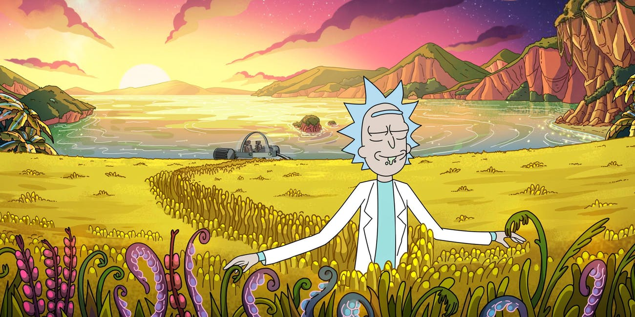 rick and morty old man and the seat